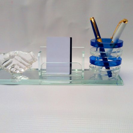 DESK ORGANIZER BLUE