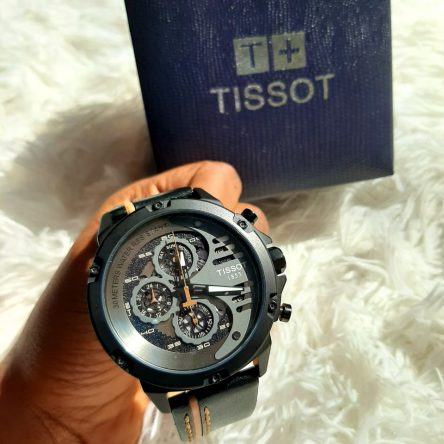 TISSOT 1853 LEATHER STRAP MEN