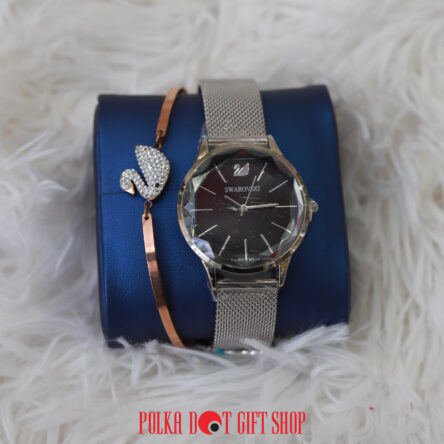Swarovski watch and Bracelet