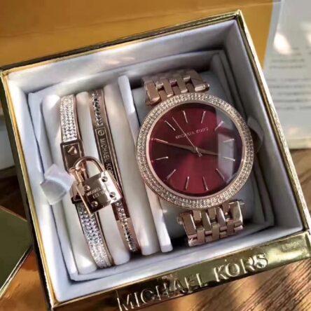 Michael Kors set of 2 Bracelets and Watch