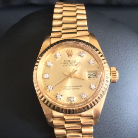 ROLEX 750 Gold
